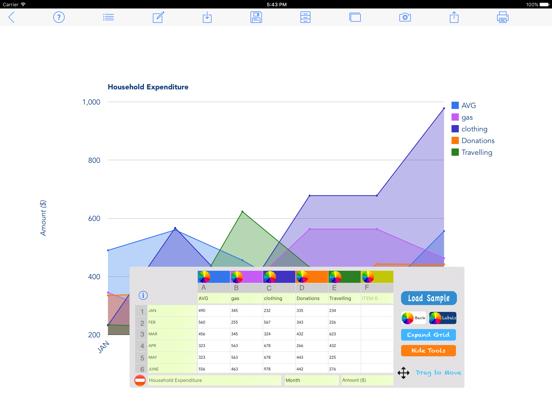 Chart Maker Pro screenshot one