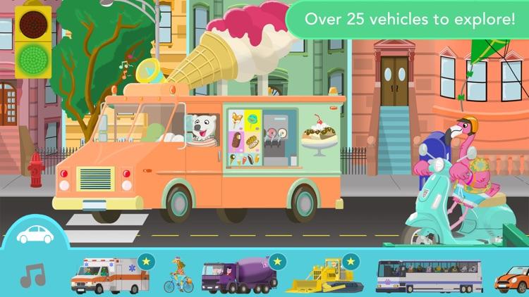 Big City Vehicles for Kids screenshot-0