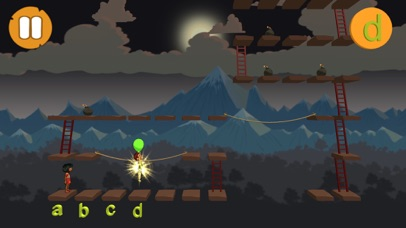Alphabet and Ladders - LITE screenshot 2