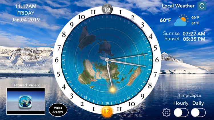 Flat Earth Sun, Moon & Zodiac screenshot-4