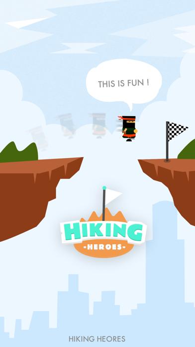Screen Shot Hiking Heroes ! 7