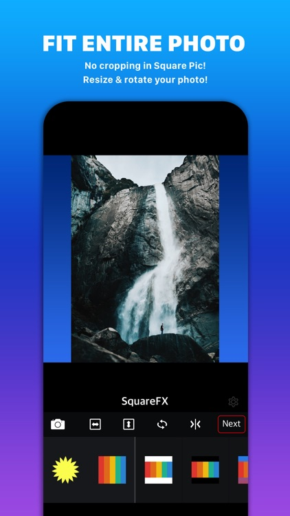 Square FX with Shape Overlay