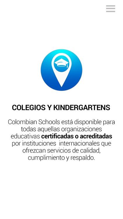 Colombian Schools screenshot-5