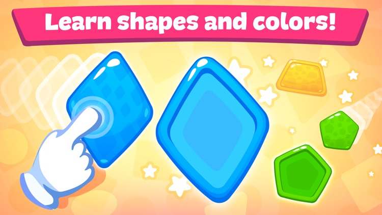 Shapes and colors - Kids games