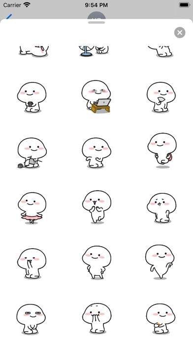 Animated Little Monk Sticker screenshot 4