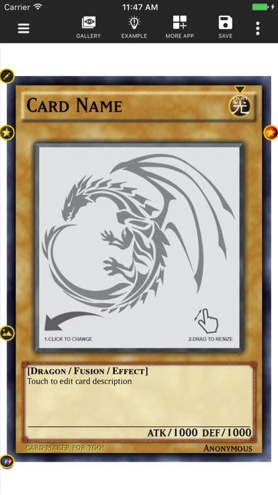 Card Maker Creator for YugiOhのおすすめ画像1