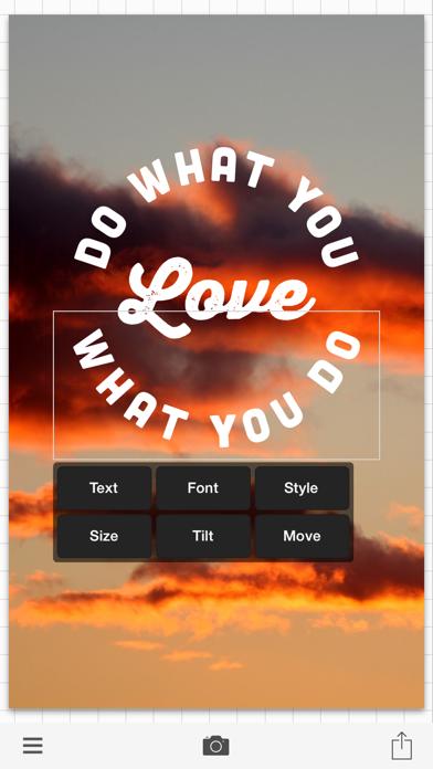 Phonto - Text on Photos app image