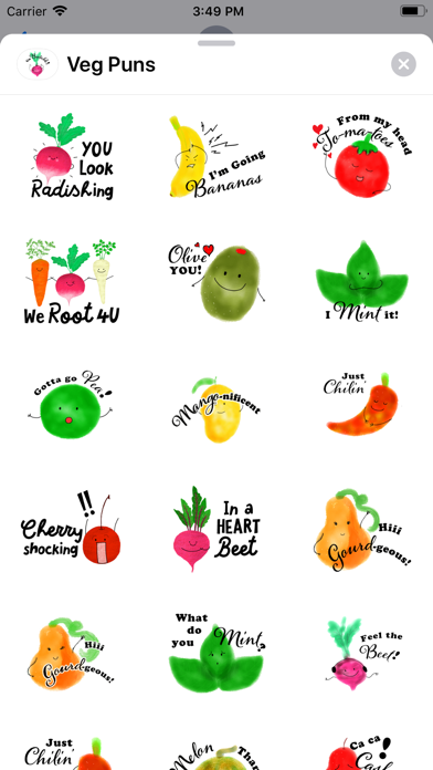 Veg Puns screenshot 1