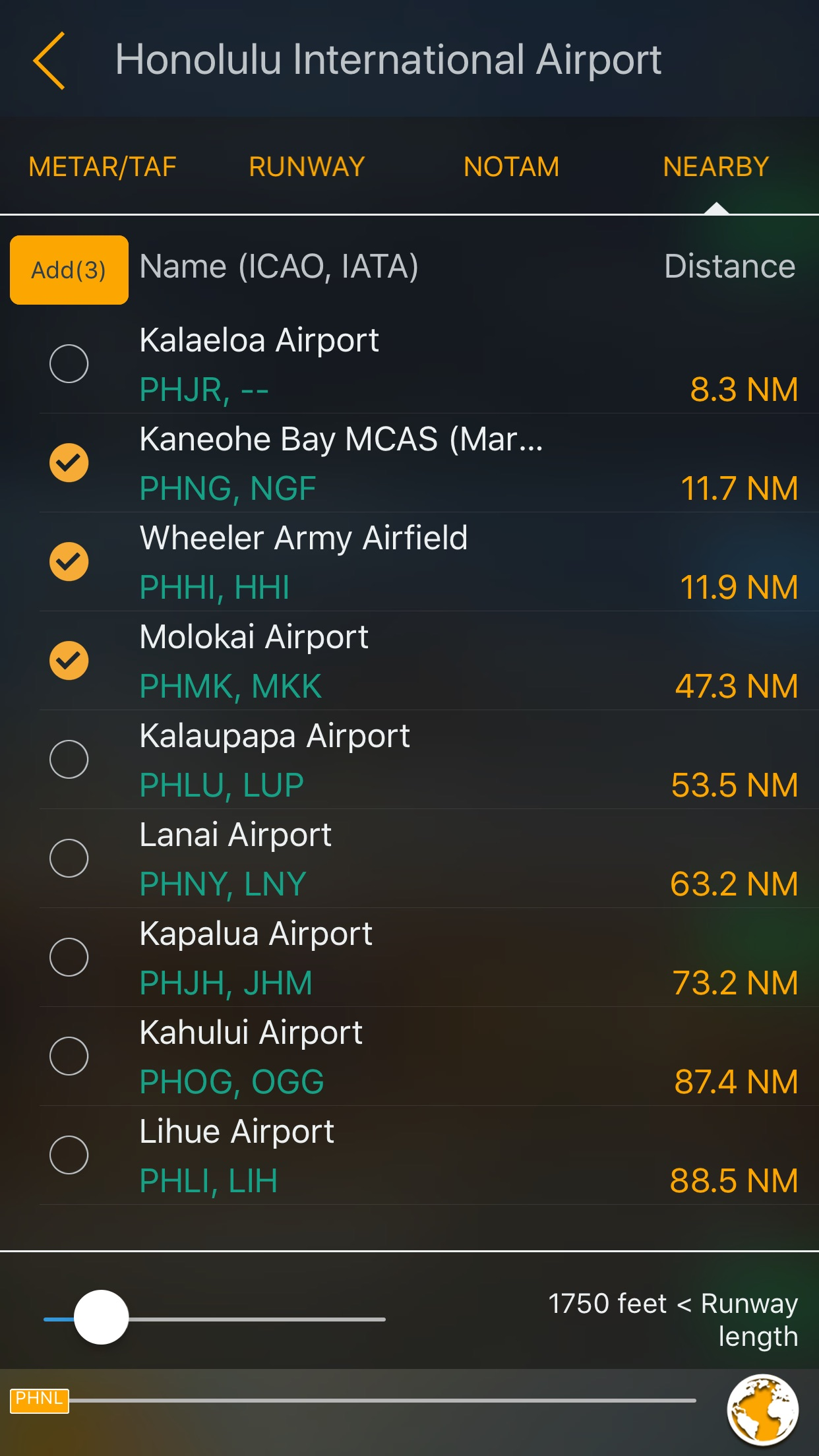 Aviation Weather Group Manager Screenshot
