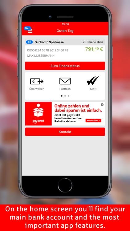 Sparkasse - Your mobile branch