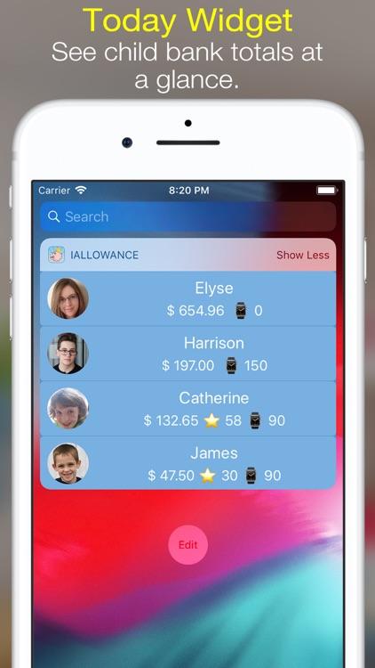iAllowance Lite with Chores screenshot-7