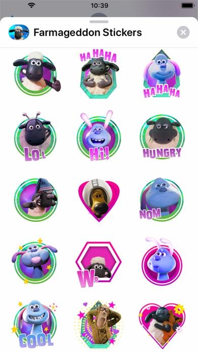 Farmageddon Stickers screenshot 1