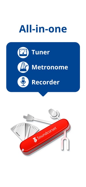 Tuner & Metronome -Soundcorset on the App Store
