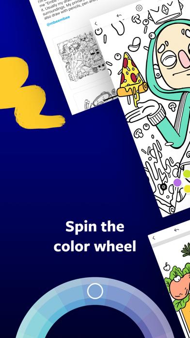 Lake: Coloring Books Screenshot on iOS