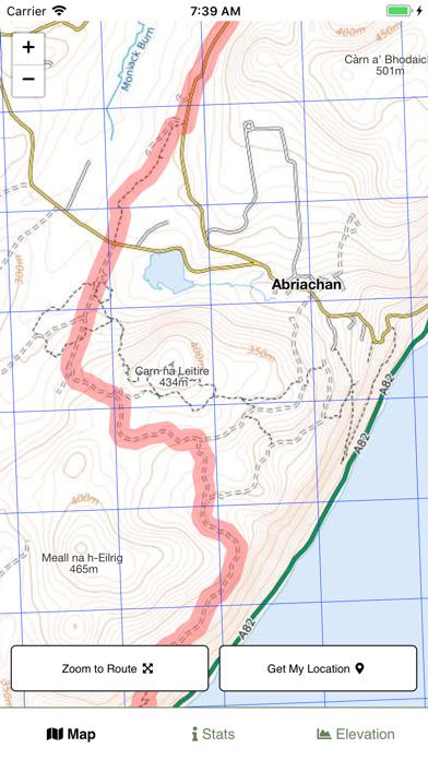 Great Glen Way Map screenshot 2