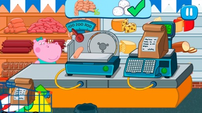 Screenshot for Supermarket game. Premium in United States App Store