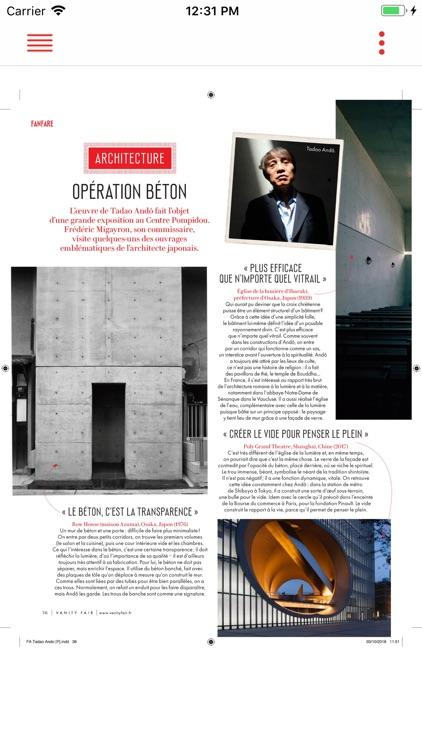 Vanity Fair Magazine France screenshot-3