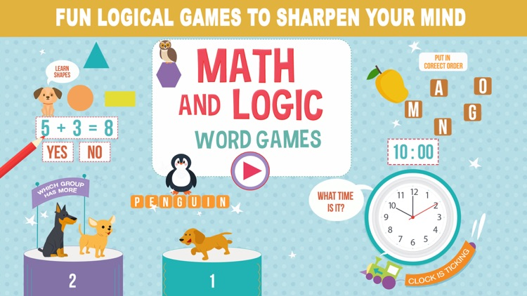 Math, Logic and Word Games