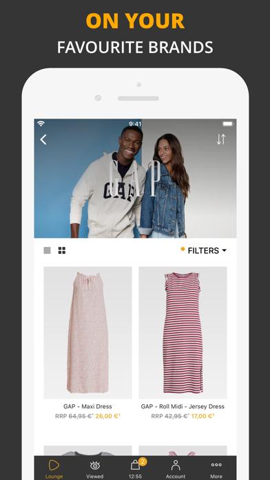 Zalando Lounge — Shopping Club screenshot two