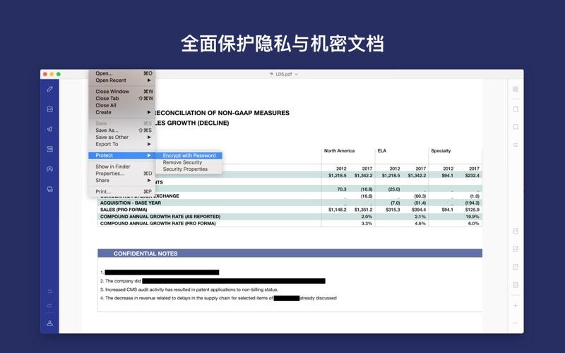 万兴PDF专家 - PDF编辑器 for Mac
