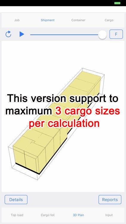 Cargo Optimizer Max 3