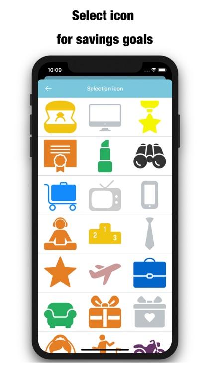 Saving Money Box-Savings Goals screenshot-4