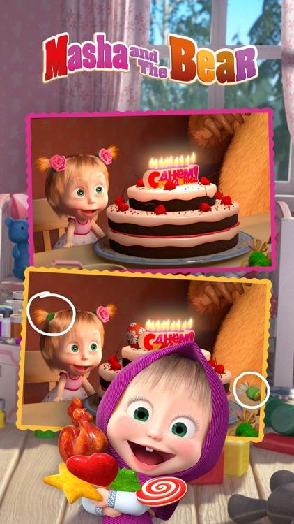 Masha and the Bear Differences screenshot-4