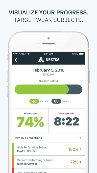 Official NBSTSA CST Exam Prep Screenshot