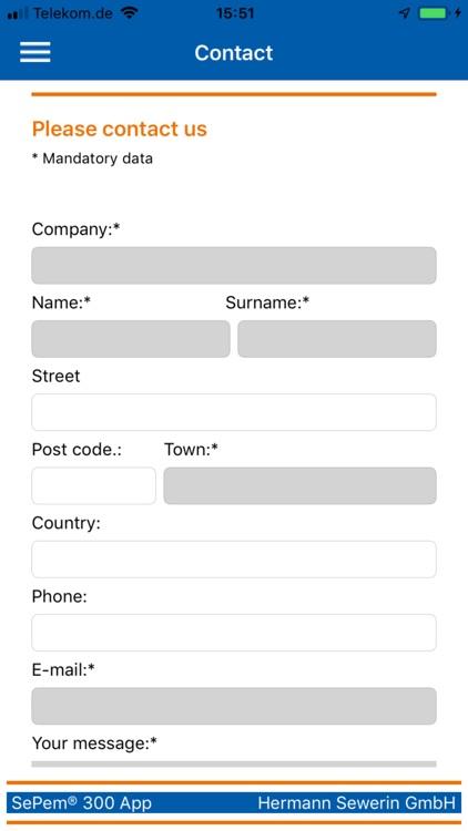 SePem 300 App screenshot-4