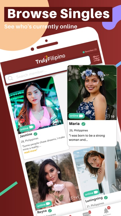 TrulyFilipino -Filipino Dating screenshot-1