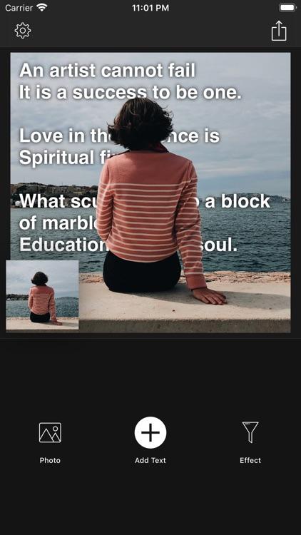 Text Under Image - 3D Text screenshot-4