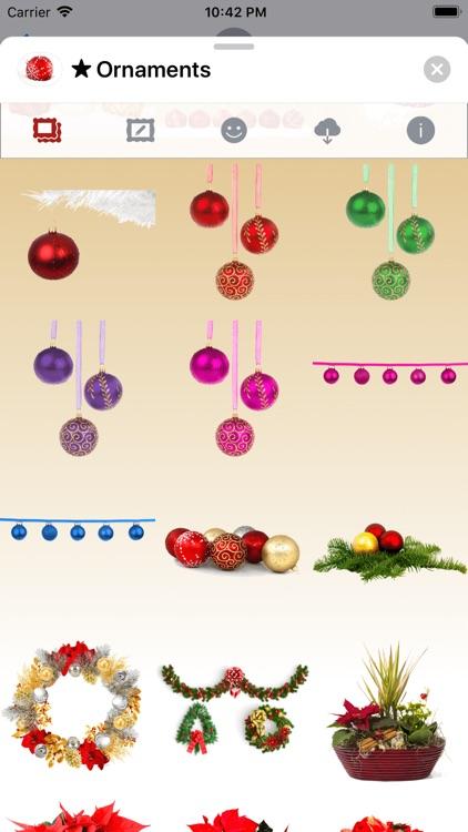 Christmas Ornaments • Stickers screenshot-6
