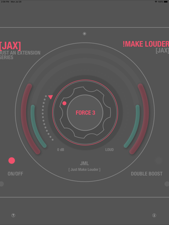 JAX !Make Louder (Audio Unit) screenshot 11
