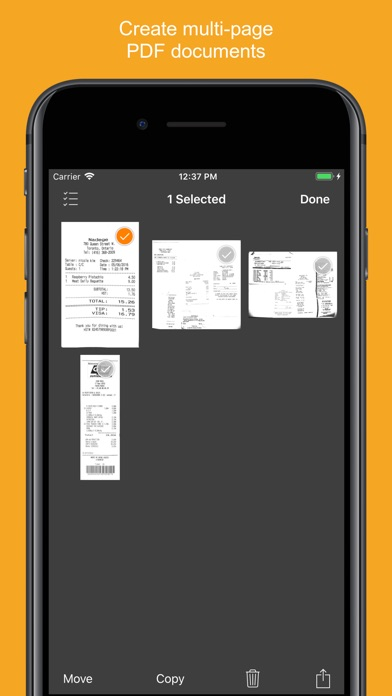 Screenshot for Genius Scan+ - PDF Scanner in India App Store