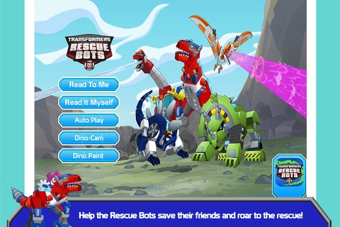 Transformers Rescue Bots: Dino - náhled