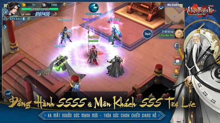 Võ Lâm Truyền Kỳ Mobile - VNG screenshot-6