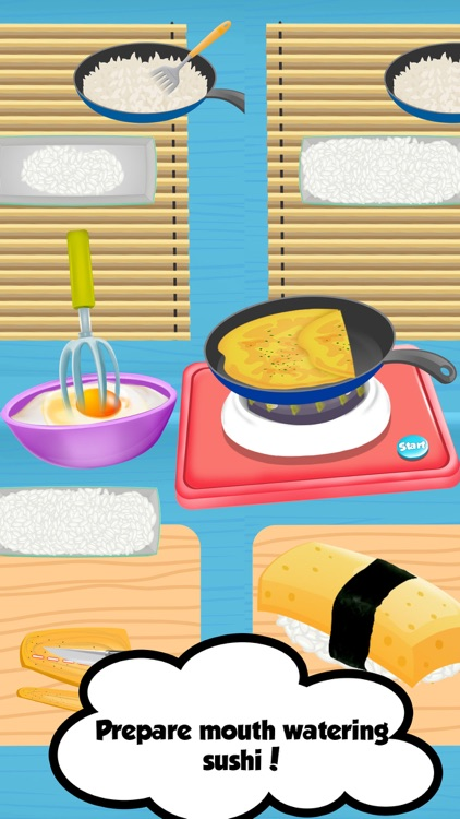 Ramen Sushi Bar - Sushi Maker screenshot-0