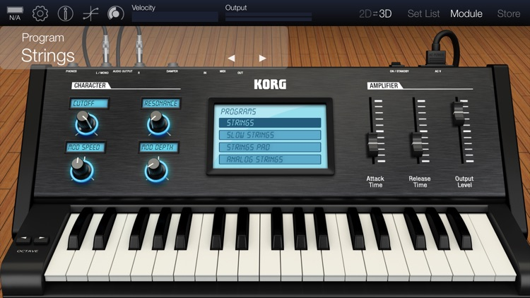 KORG Module Pro screenshot-4