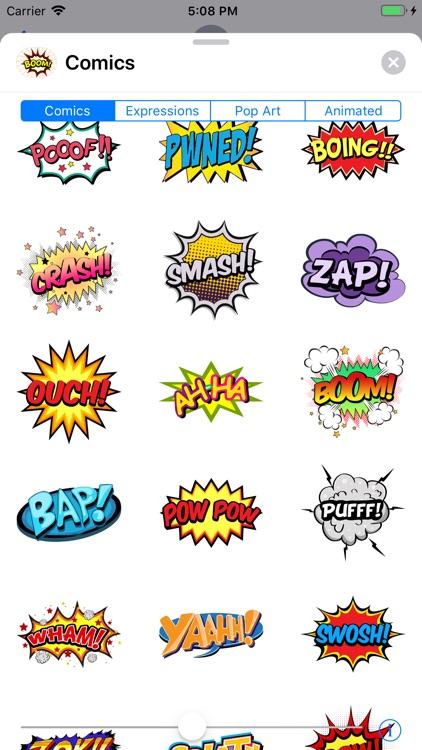 Comics Pop Art Sticker Effects screenshot-4
