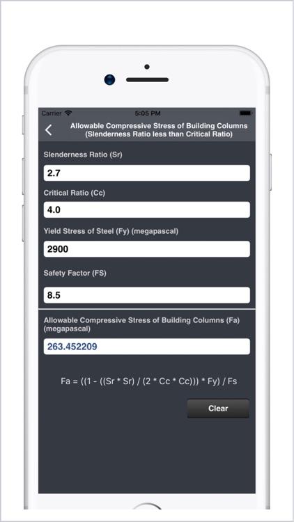 Structural Engineering Calc. screenshot-4