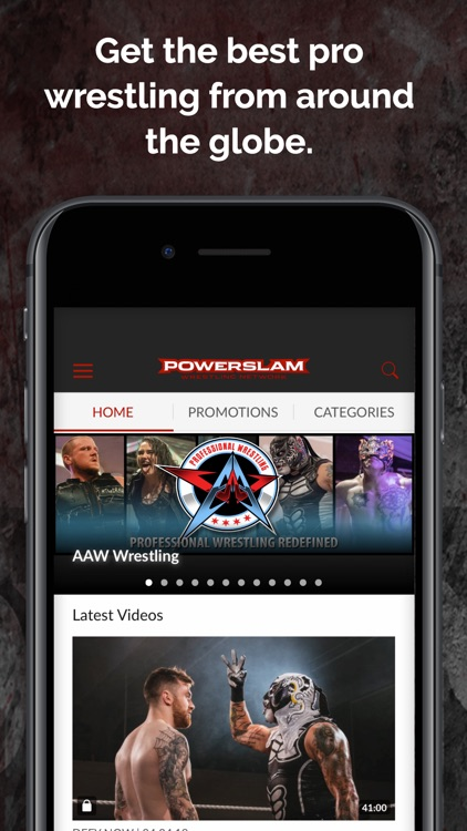 Powerslam Wrestling Network screenshot-1