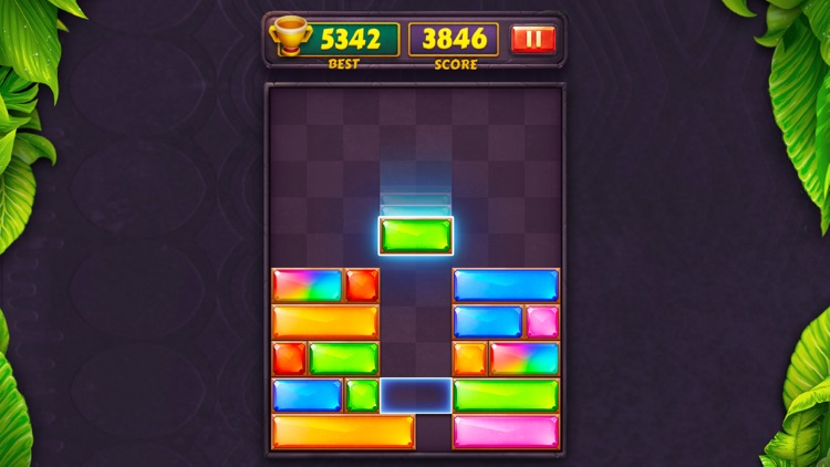 Dropdom™ Puzzle Block Jewel screenshot-6