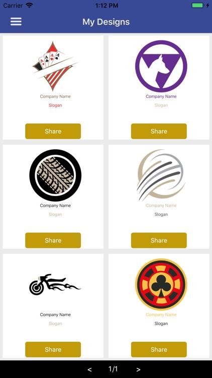 Easy Logo Maker - DesignMantic screenshot-4
