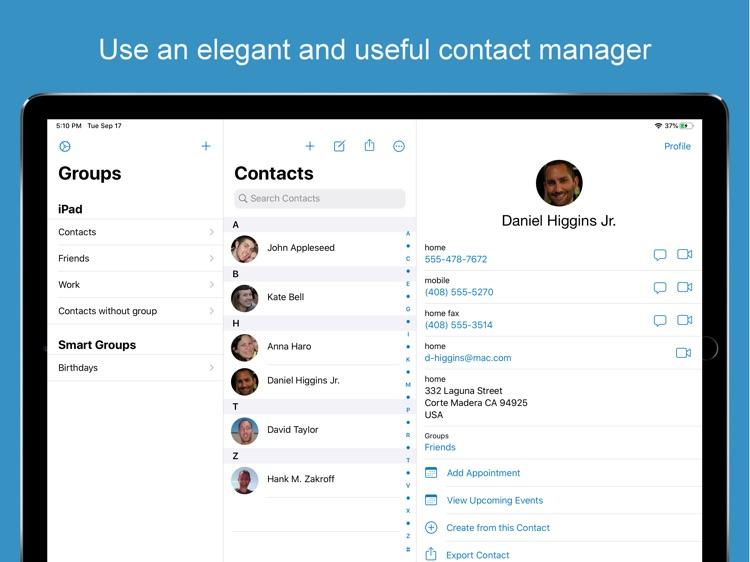 ContactsXL for iPad