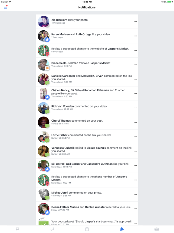 Facebook Pages Manager-ipad-3