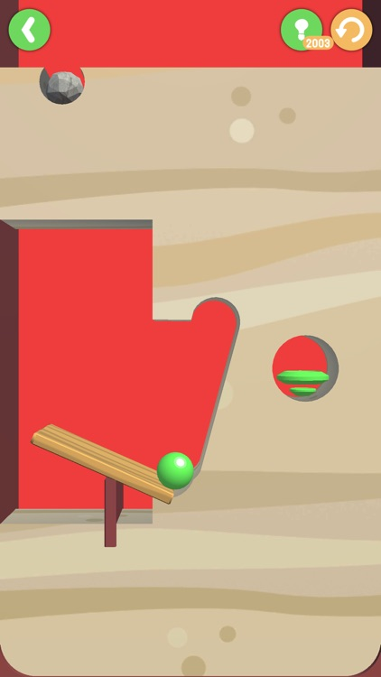 Hole Land - Ball Rolling screenshot-3