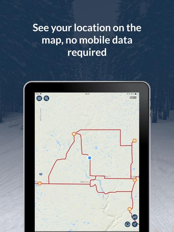 Sask Snowmobile Trails 2019-20 screenshot 7