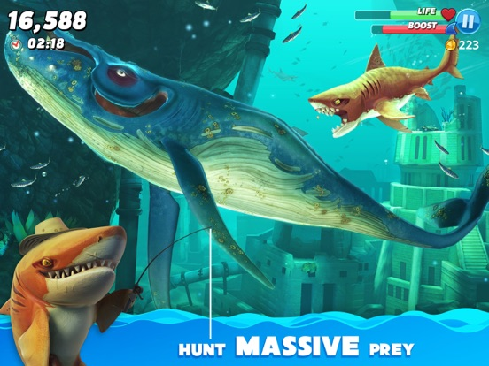 Hungry Shark World-ipad-2