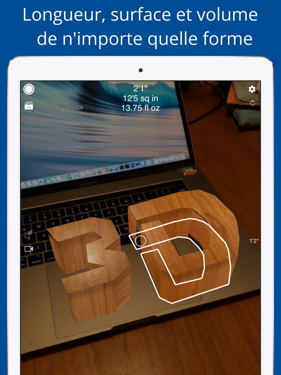 Screenshot #6 pour Mesurer 3D Pro - AR à mesurer