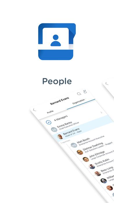 Screenshot of People - Workspace ONE1